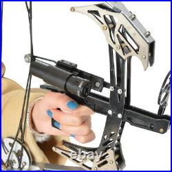 14 Mini Compound Bow Set Laser Sight 25lbs Archery Fishing Hunting Shooting