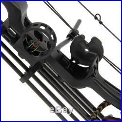 15-70lb Adjustable Powerful Chikara Compound Archery Shooting Bow & Arrows Set