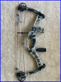 2010 Hoyt Turbo Hawk Compound Bow 26-30 in, 40-70 lbs camo