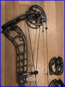 2018 PRIME Logic CT5 Compound Bow, LH, 50 -60lbs, 28.5 draw & 28 cams included