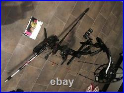 2020 PSE BOWMADNESS UNLEASHED 60lb compound bow, 28 arrows, release