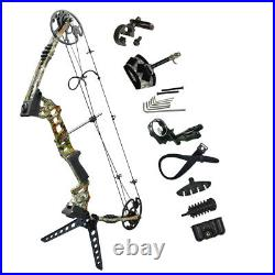20-70LBS Archery Compound Bows Sets Shooting Shooting Takedown Left/Right Hand