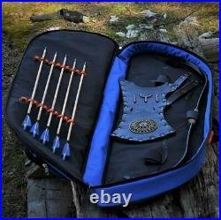 20lbs Starter Archery Bow Turkish Wooden Recurve Bow with Arrows For Archers