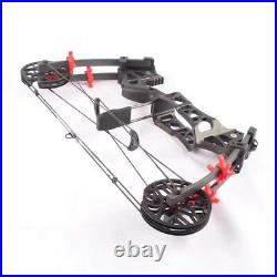 30-60lbs Compound Bow Steel Ball Fishing Hunting Right Left Hand Archery Target