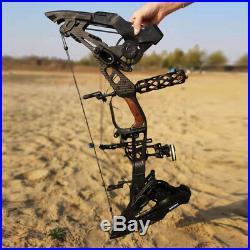 32 21.5lbs-80lbs Compound Bow Archery Steel Ball Hunting Slingshot KRYSIS