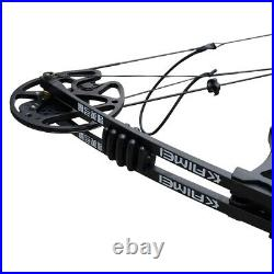 35-70lb Archery Compound Bow Set Adjustable Outdoor Sports Hunting Practicing