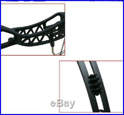40-60lbs Adjustable Compound Bow Archery Right Left Hand 40'' Aluminum Hunting
