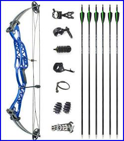 40-60lbs Compound Bow Set Adjustable Right Left Hand Archery Hunting Shooting