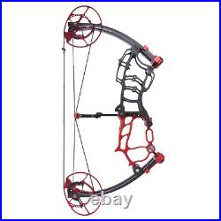 40-70lbs Compound Bow Short Axis Hunting Fishing Archery Arrows Right Left Hand