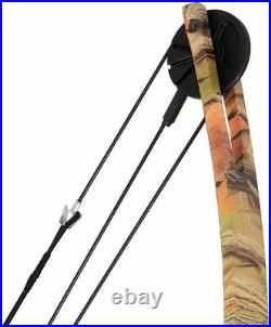 55lb Camo Compound Bow and Arrow Tactical Archery Training Target Shooting