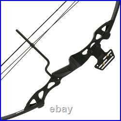 Anglo Arms 55lb Black Compound Archery Bow Hotaka Outdoors Powerful Right Handed