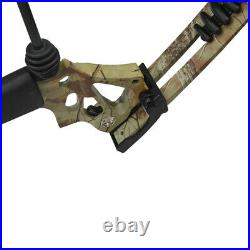 Archery Compound Bow 15-70lbs Camo Adjustable Outdoor Field Target Hunting Shoot