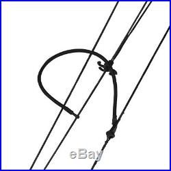 Archery Compound Bow Adjustable 30-55lbs Arrow Rest Sight Target Field Shooting