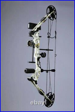 Archery Hunting Compound Bow Arrows Set Hunting 19-70lbs Right Handed Stabilizer