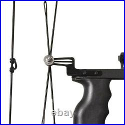 Archery Mini Compound Bow And Arrow Set 35lbs to fish bowfishing Free Shipping