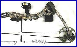 BEAR Archery APPRENTICE 2 Compound Bow RH 60lbs + 3 Arrows