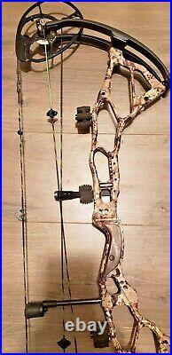 BOWTECH BTX-31 BOW LH 27-31 70lb super clean