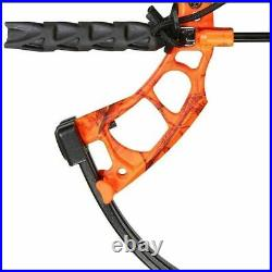 Bear Archery Cruzer Compound Bow RTH 15-70 Lbs Right Hand Blaze Orange