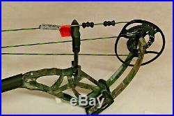 Bear Archery Moment Archery Compound Bow, RH, 60lb in Realtree edge