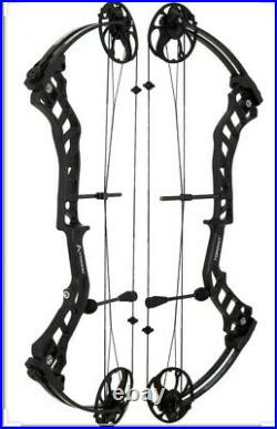 Beginner Compound bow TopPoint Trigon right handed 25-55lb 19-30