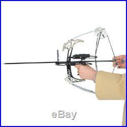 Bogenschießen 14 Zoll Mini Compoundbogen Pfeile Set 25lbs Bogenfischen Jagdbogen