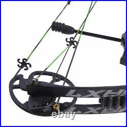 Bogenschießen Compound Bogen Set 30-70lbs Einstellbare 320fps Jagd Sportbogen