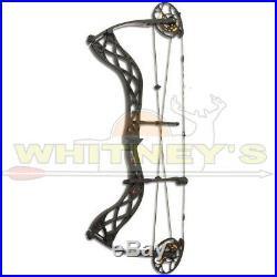 Bowtech Archery Carbon Icon Right Hand Black DW 60# Lbs DL 26.5-30