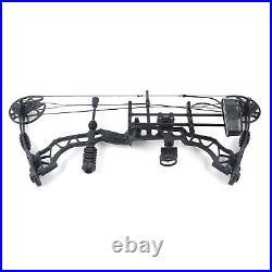 Compound Bow 35-70lbs Adjustable Arrow Rest 12PCS Arrows Archery Shoot Hunting