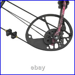 Compound Bow Arrow Set 40-60lbs Adjustable Archery Outdoor Target Hunting Shoot