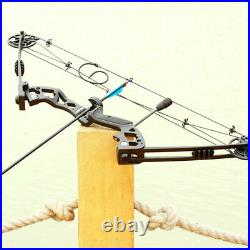 Compound Bow Arrows Set 30-60lbs Adjustable Archery Shooting Hunting Sport UK
