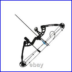 Compound Bow Arrows Set 30-60lbs Adjustable Archery Shooting Hunting UK