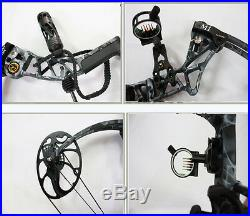 Compound Bow M1 Hunting Archery Bows Package Hunter Outdoor Aluminum 19-70lbs