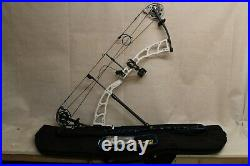 Diamond Medalist 38 Compound Bow 60lbs In White Right Handed DL 23 32.5