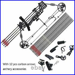 Funtress Compound Bow 17-29 Draw Length 20 lb-70lb Draw Weight with Max Speed