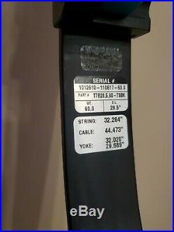 G5 Prime Centergy X1 39 Teal 3d Target Bow 28.5/60lb/rh Excellent Cond. No Resv