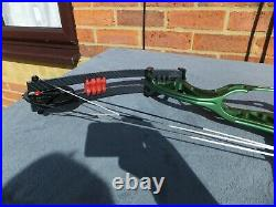 HOYT PREVAIL LEFT HANDED COMPOUND BOW 50-40lbs X3 29-31 (CAM3)