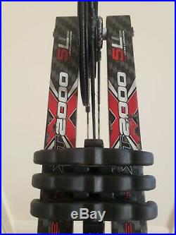 HOYT PRO COMP ELITE XT2000 3D TARGET HUNTING BOW FLAT BLACK RH/28.5-30/60lb