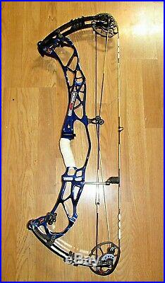 HOYT PRO FORCE BOW 26.5-30 60lb RIGHT HAND royal blue