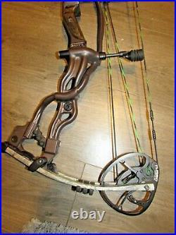 HOYT SPYDER 30 BOW 30 70lb Right hand Harvest Brown Riser