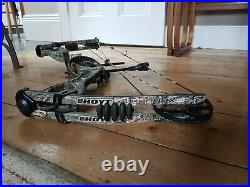Hoyt Alphamax 32 XTS Compound Bow 60 70lbs XTR Cam & 1/2 with extras