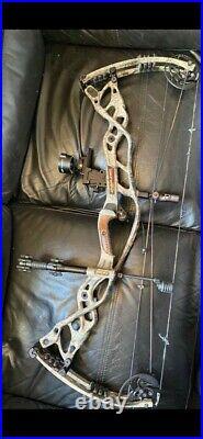 Hoyt CARBON DEFIANT 34 Compound Bow R/H 60 70 Lbs
