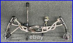 Hoyt Carbon Element G3 Compound Bow RH 60-70 Lbs 29 QAD Rest React Sight