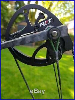 Hoyt Carbon Matrix G3 Compound Bow, 50lb, RH, 25.5/27