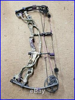 Hoyt Carbon Spyder FX 30 RH 25-27 40-50lbs Max-1 Purple Vicxen