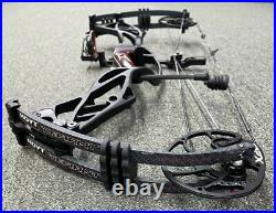 Hoyt Defiant Compound Bow 40-50 Lb limbs 28-30 Inch Draw