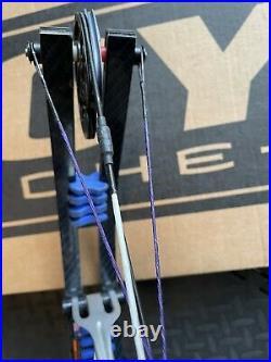 Hoyt Prevail FX Silver R/H 40-50lbs 23.5-25.5 X3