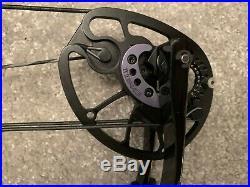 Hoyt Pro Force Compound Bow (Black) 50-60lbs 27-30