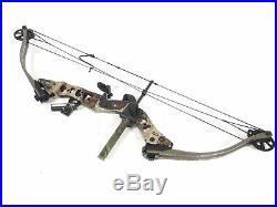 Hoyt Smoke Carbonite RH Compound Hunting Bow 70-80 LB, 28 Draw, 43 length USA