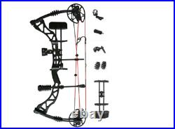 Hunting Bow Set 30-70lbs Recurve Archery Shooting Compound Bow Right Hand