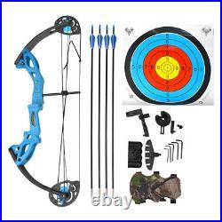 Kinder Compound Bogen Pfeil Set 15-29lbs Junior Anfänger Bogenschießen Jagd